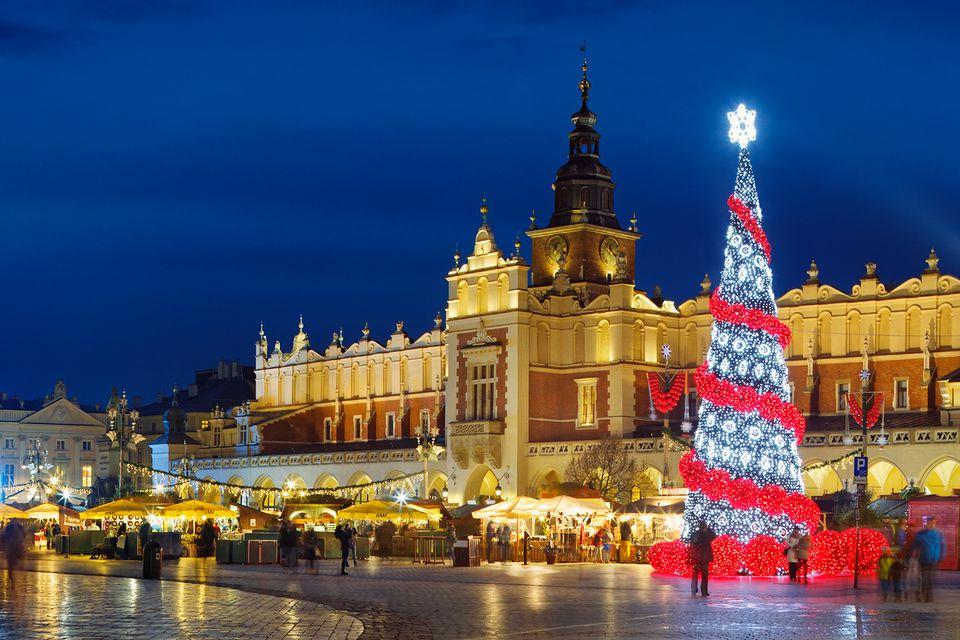 Jul i Krakow på hotel